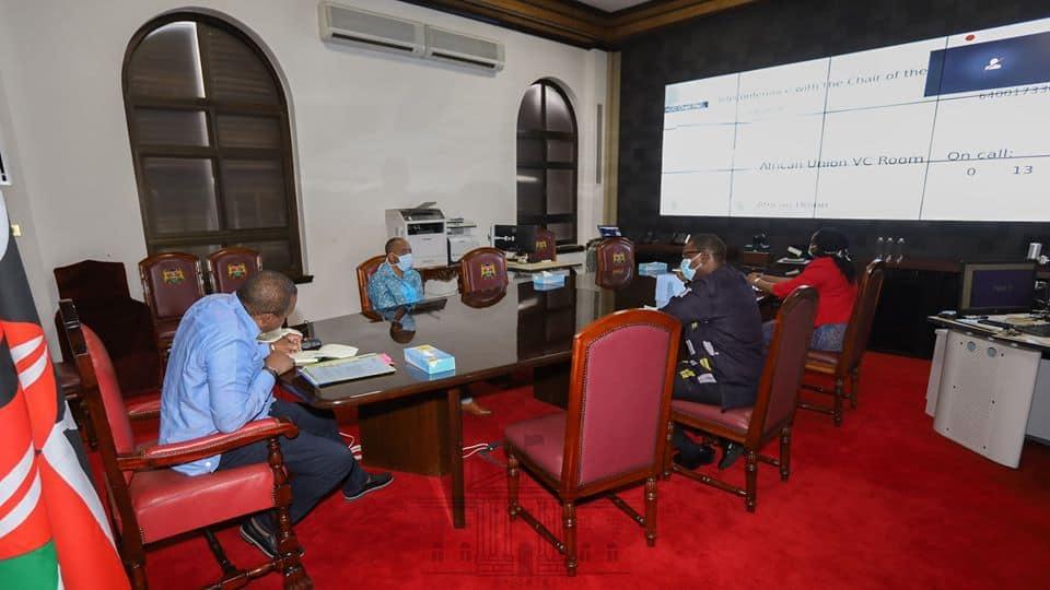 Maisha simpo: Picha ya Rais Magufuli afisini yawasisimua Wakenya