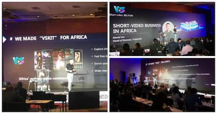 Vskit invited for a key speech at AfricaCom video forum 2018