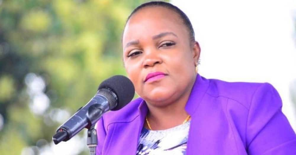 Kirinyaga Woman Rep Wangui Ngirici denies she has decamped from UDA