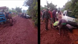 Kimilili MP Didmus Barasa Apologises to Residents over Impassable Road in His Constituency