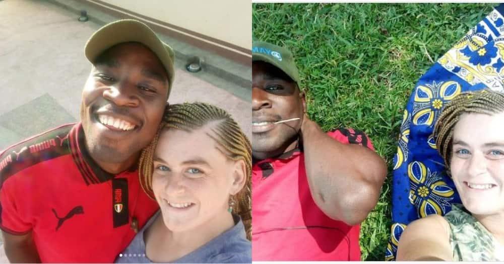 Delightful photos of mzungu missionary who got married to Bukusu bodaboda rider