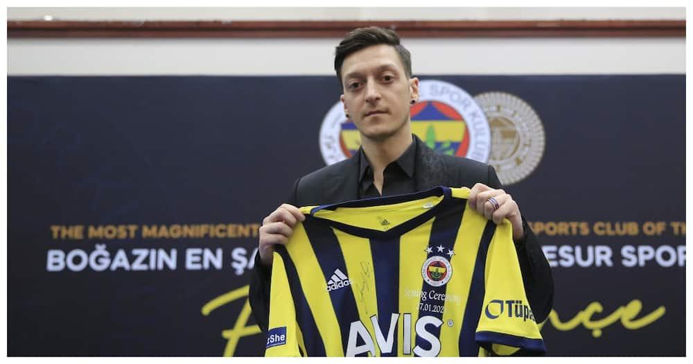 Mesut Ozil: German's struggles on the pitch still ongoing despite move to Fernaberce