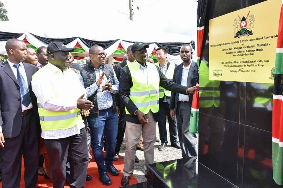 List of all government-initiated projects in Central Kenya