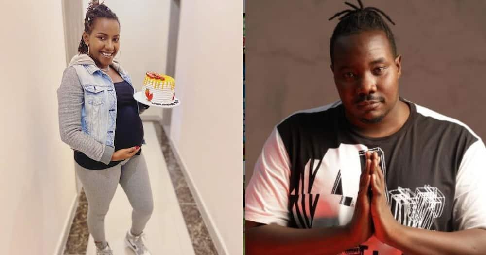 Ivy Namu and Willis Raburu.