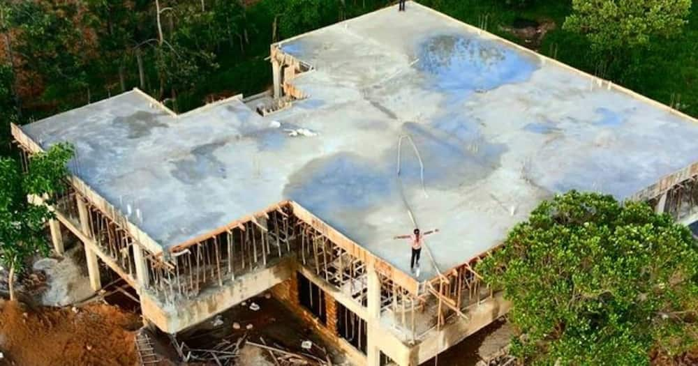 YouTuber Iam Marwa is building a mansion in Isibania.