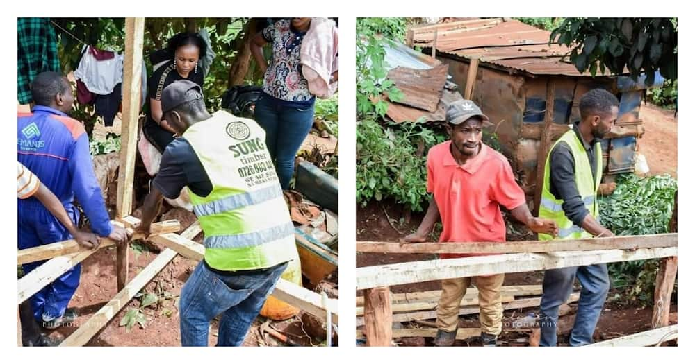 Linnet Kathambi: Woman behind Omosh's house to build over 100 more for needy cases