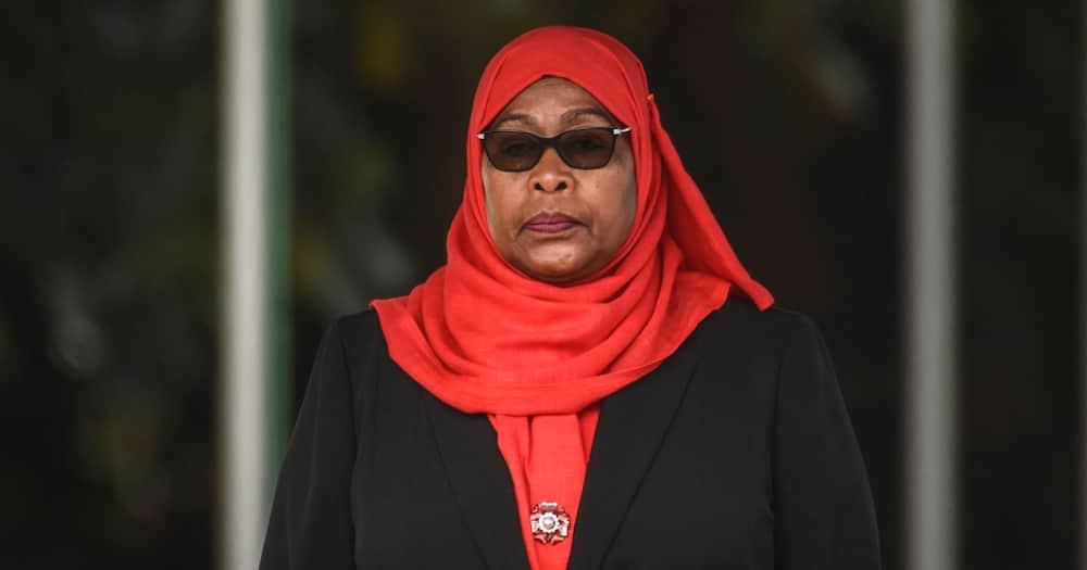 Tanzania's sixth President Samia Suluhu Hassan. Photo: Getty Images.