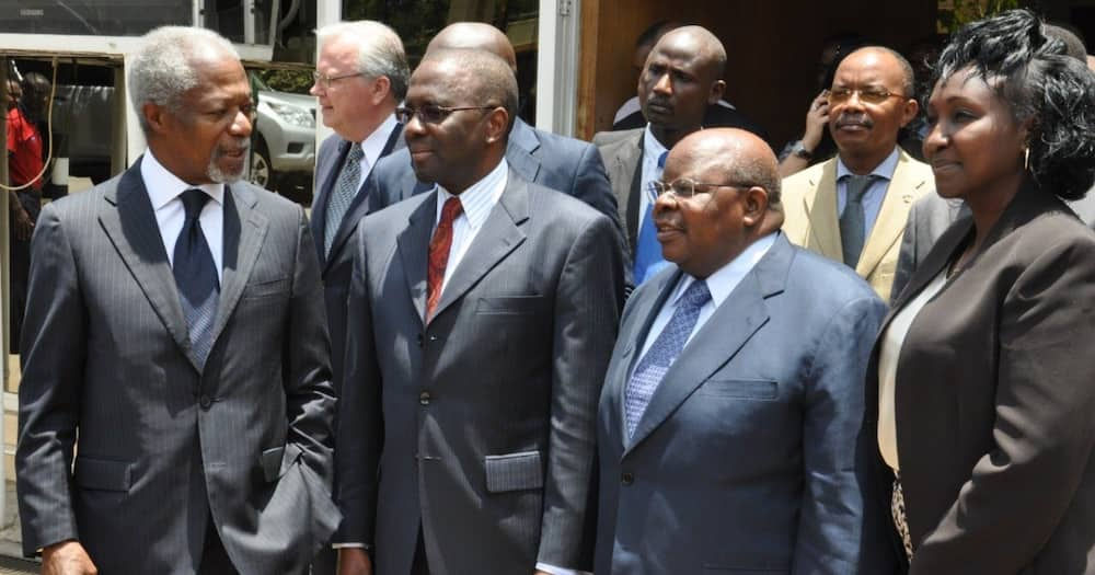 Former chief justice Willy Mutunga (second left). He is a lifelong activist, firm jurist who rose through ranks to become Kenya's 13th CJ.