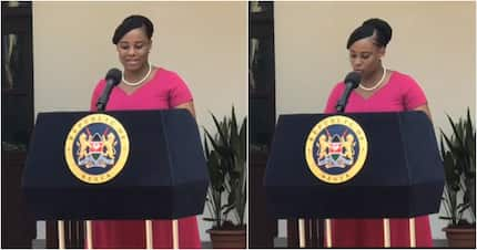 Kanze Dena looking like a true African beauty after sudden weight gain
