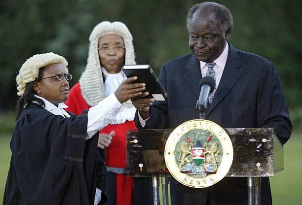 Tanzia: Aliyekuwa Jaji Mkuu Evans Gicheru afariki dunia
