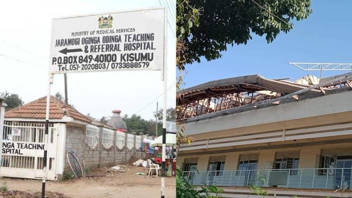 Hospitali yaporomoka Kisumu, juhudi za kuwaokoa wagonjwa zaendelea
