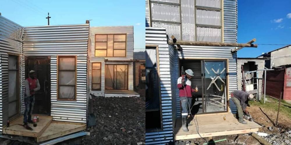Double-storey, shack, house