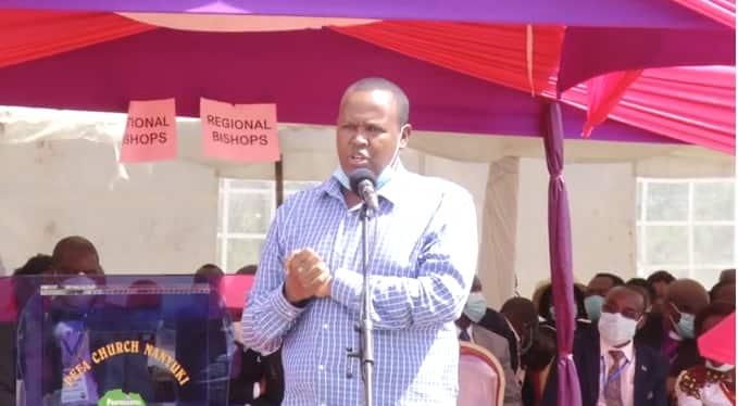 Laikipia: Waombolezaji wamtimua mbunge jukwaani
