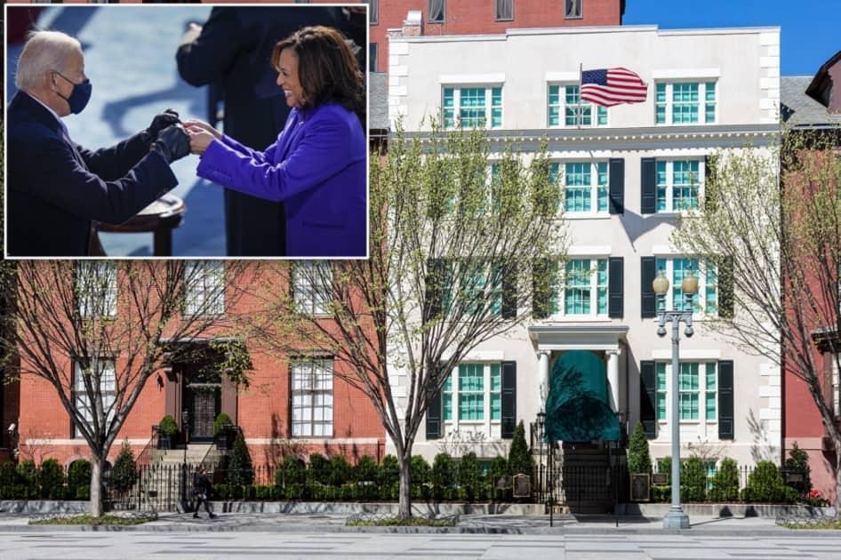 Kamala Harris moves to a house near Joe Biden