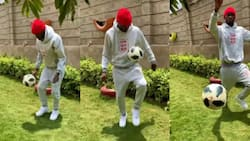 Video of King Kaka Happily Bouncing a Ball after Being Sick for 3 Months Excites Fans