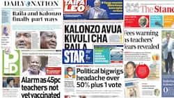 Magazeti Jumanne, Julai 27: Hatimaye Raila Amupa Kalonzo Talaka Rasmi