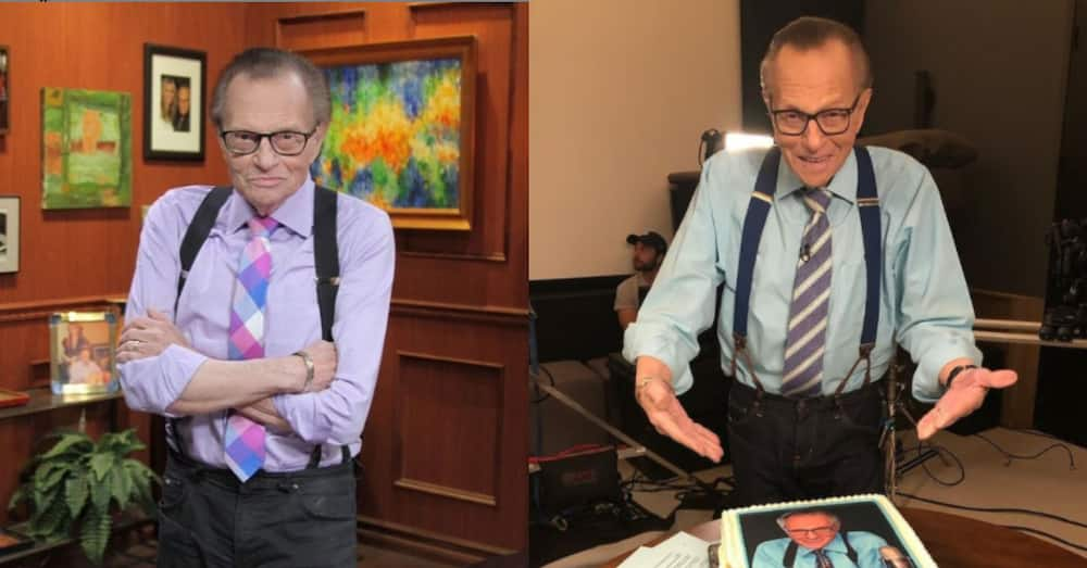 Larry King admitted to hospital after contracting COVID-19