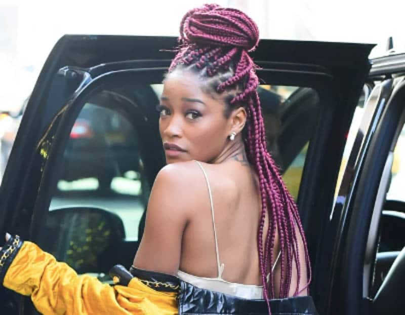 celebrities with box braids