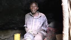 """Mt Elgon: Man Who Has Lived in Cave for 30 Years Refuses to Return Home: """"I'm Okay"""""""