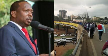 Nairobi Governor Mike Sonko suspends matatu CBD ban
