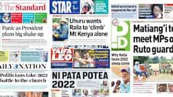 Magazeti Jumanne, Agosti 31: Uhuru Kuwapiga Kalamu Baadhi ya Marafiki Zake Mawaziri