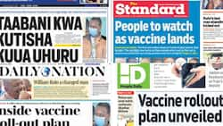 Kenyan newspapers review for March 2: Baringo MCAs say they rejected BBI to punish Senator Gideon Moi