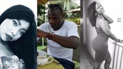 Mpenzi wa zamani wa Dennis Oliech adai wamerudiana baada ya mchezaji huyo kutengana na mpenziwe