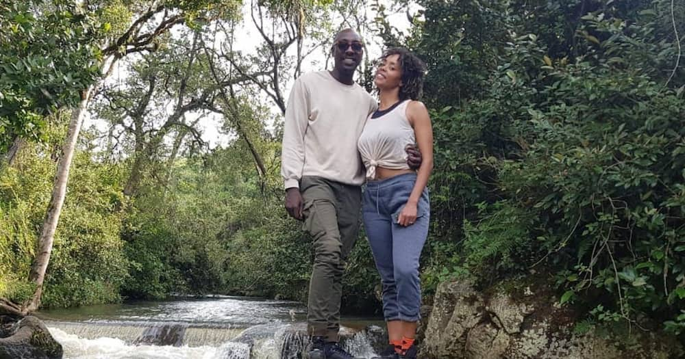 Sauti Sol's Bien, Chiki spend quality time with singer's parents in Kakamega on 1st wedding anniversary