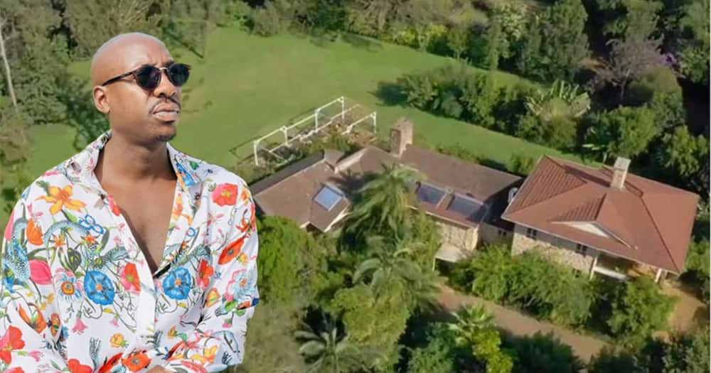 Sauti Sol's Bien and his house.