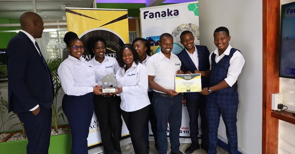 Fanaka Real Estate workers. Photo: Fanaka Real Estate.