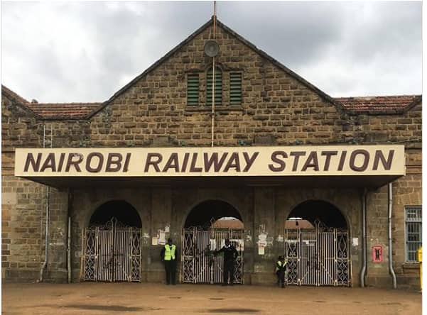 Nairobi commuter train