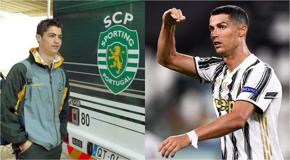 Cristiano Ronaldo: Sporting Lisbon rename football academy after graduate CR7