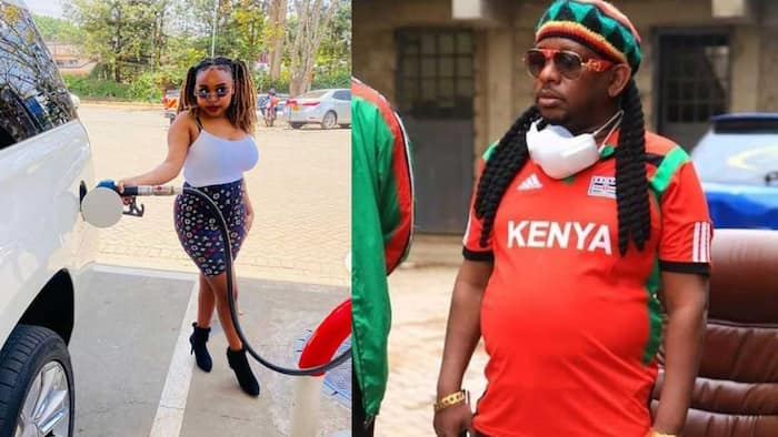 """Mike Sonko's Daughter Sandra Says He Is Very Protective: """"All the Time"""""""
