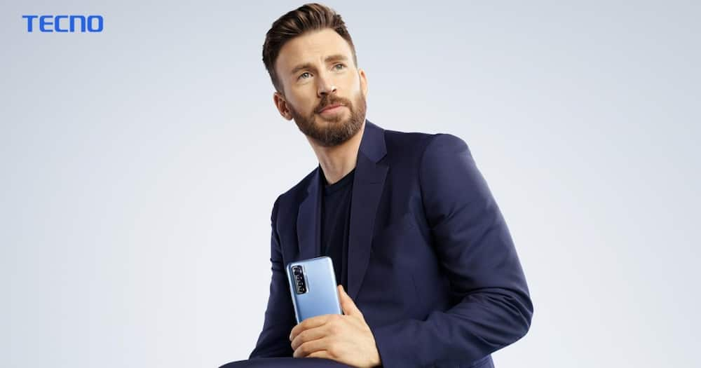 Hollywood's Chris Evans Wants to Turn Your Face into a Literal Masterpiece with Africa's Top Smartphone
