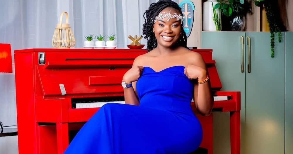 Bahati's Baby Mama Yvette Obura Denies the Two Broke Up Over Infidelity