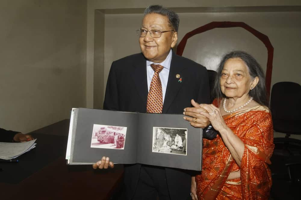 Billionaire Manu Chandaria, 90, formalises marriage with wife of 64 years