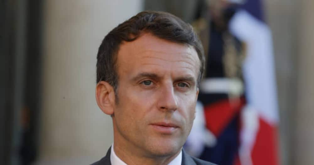French President Emmanuel Macron Slapped by Man while Greeting Supporters