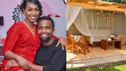 Pascal Tokodi Builds Stunning Patio at His Home With Grace Ekirapa