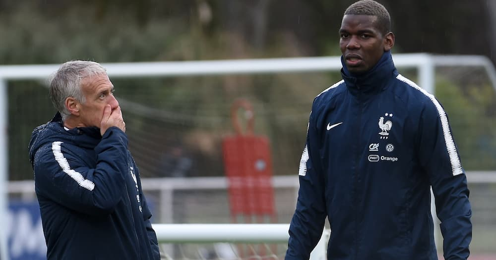 France manager Didier Deschamps attributes Paul Pogba's dip in form to unhappiness