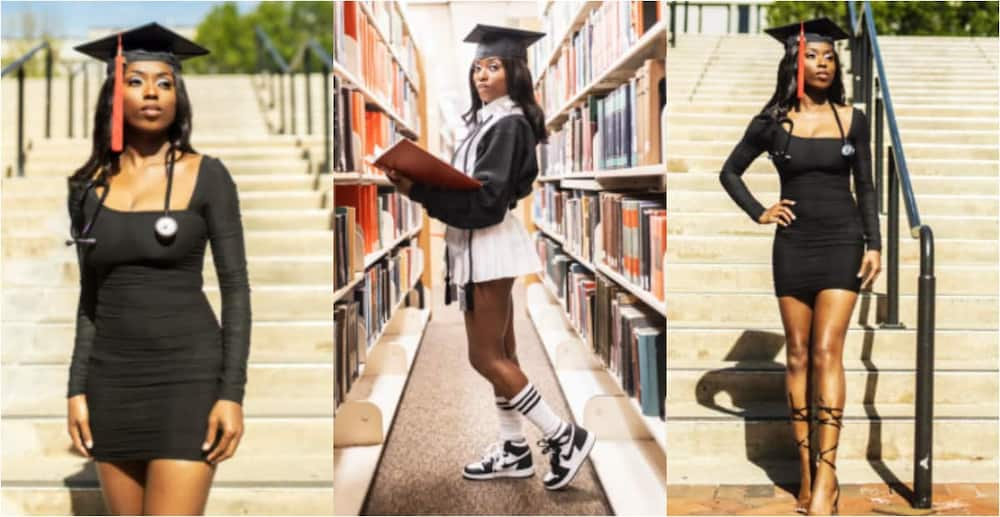Despite all the obstacles, I persevered - Lady celebrates as she earns college degree