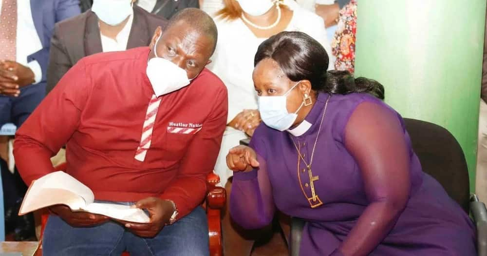 Bishop Margaret Wanjiru said Kenya was blessed due to her deputy president's knowledge of the Bible.