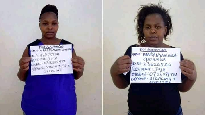 Two women notorious for drugging men in night clubs arrested in Thika