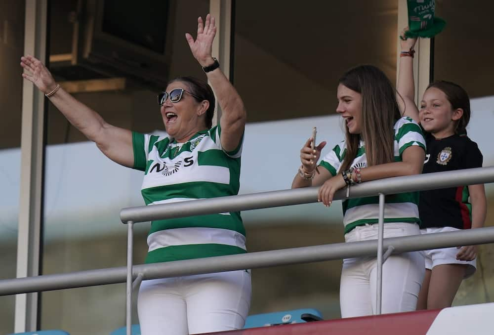 Ronaldo's Mother Spotted Dancing With Friends While Celebrating Sporting's 1st Title in 19 Years