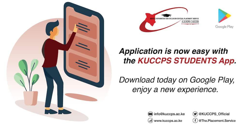 KUCCPS 2021/2022 intake
