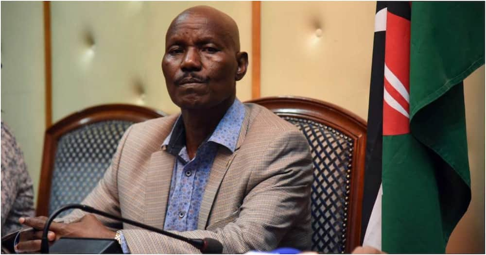 Kenya's Ambassador to Somalia Lucas Tumbo. Photo: Standard.