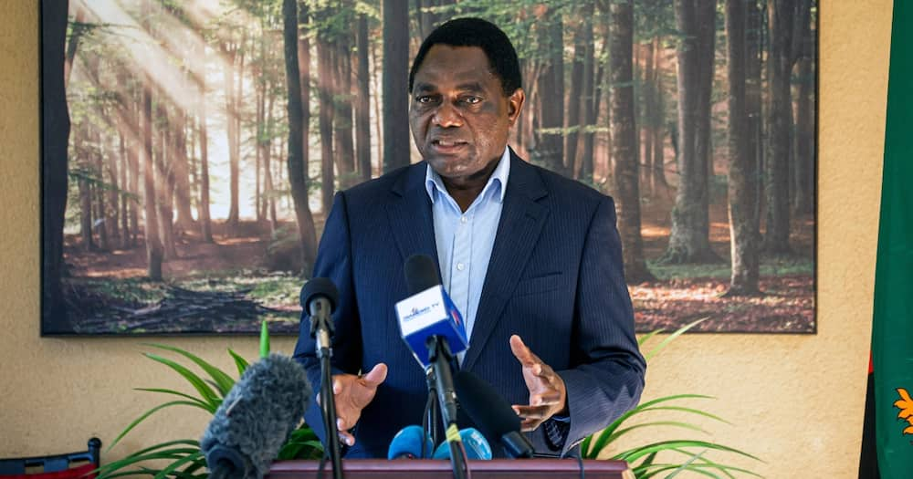 Zambia's president-elect Hakainde Hichilema. Photo: Getty Images.