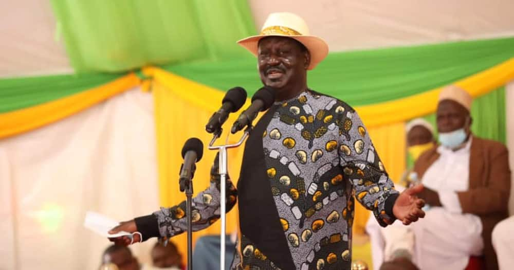 Raila Odinga said the restructuring of KEMSA would save the country from the loss of taxpayer's money.
