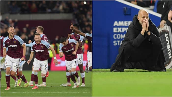 Carabao Cup: West Ham Eliminate Holders Man City After Post-Match Penalties