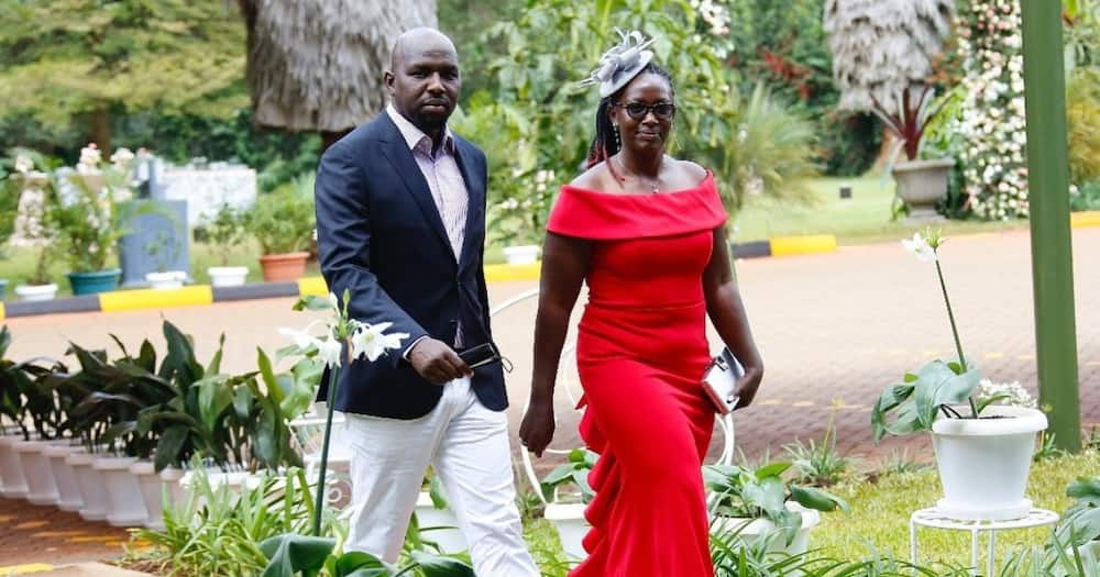 Kipchumba Murkomen spent quality time with his parents at their rural home.