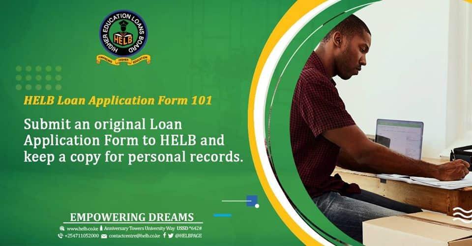 HELB loans Kenya 2020-2021